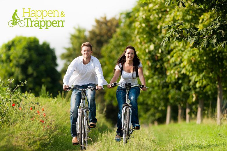 Happen & Trappen fietser