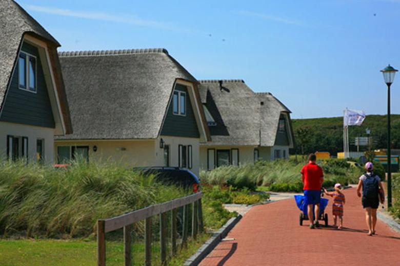vakantiehuis aan het strand