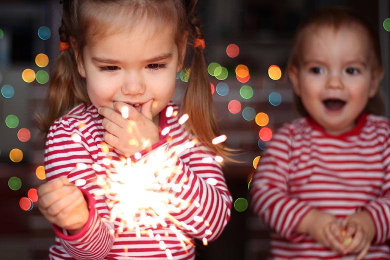 waar oud en nieuw vieren met kind