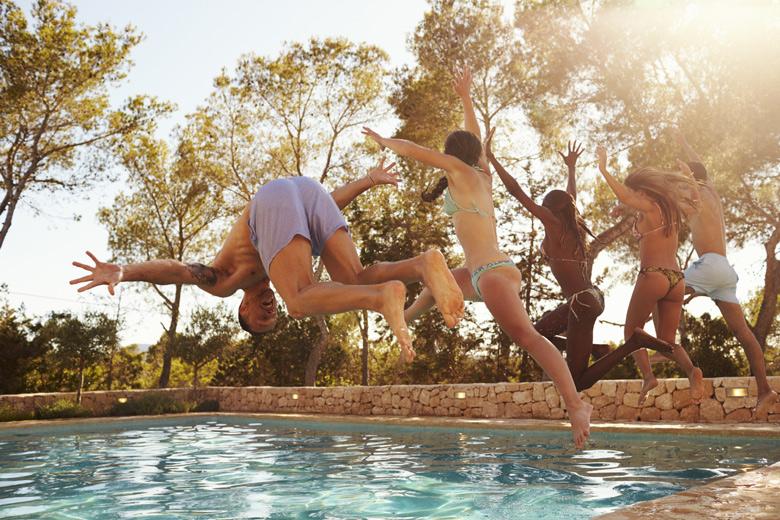10 persoons vakantiehuis met zwembad
