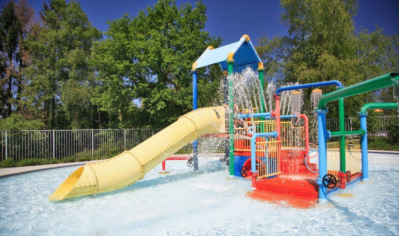 Vakantiepark met waterspeeltuin