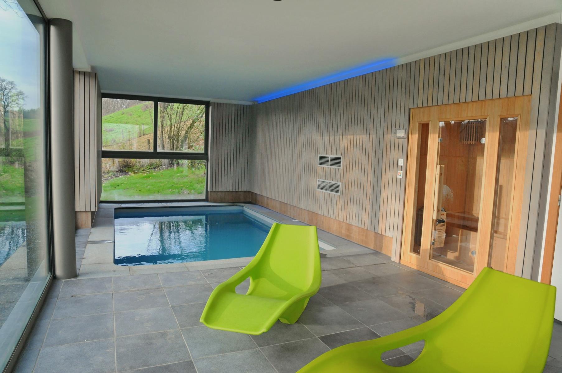 Vakantiehuis met privé binnenzwembad Vakantiedorp Noiseux