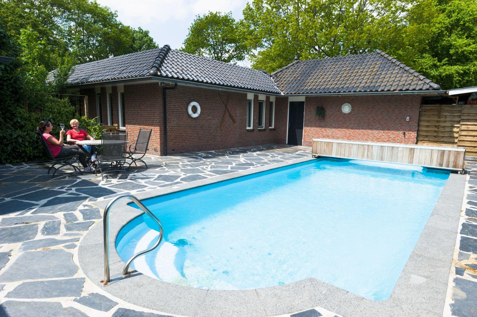 Vakantiehuis met privé zwembad de Boshoek